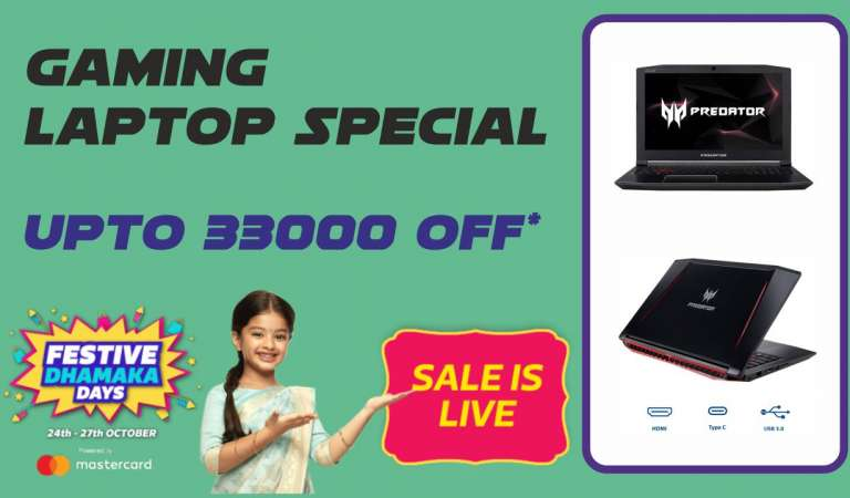 Filpkart Sale: Festive Sale Top Gaming Laptops