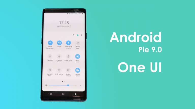 Samsung Galaxy Note 9 Get Android 9 Pie beta in India with One UI