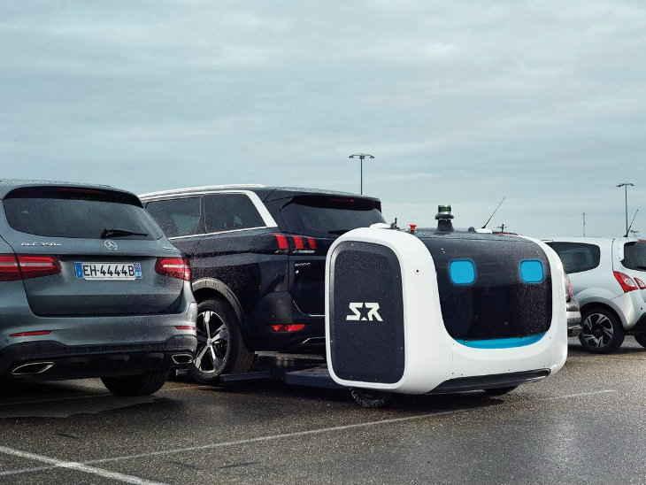 robot for car parking