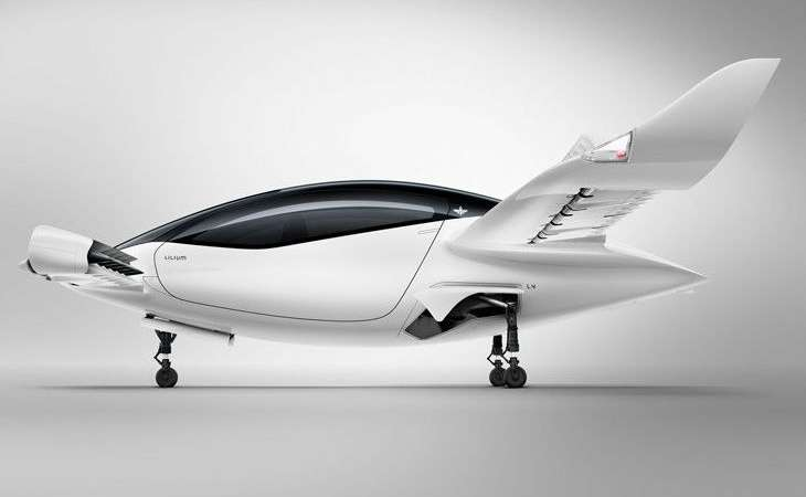 The world's first 5-seater electric flying taxi, speed 300 kilometers per hour