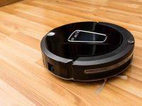 Robotic vacuum cleaner.