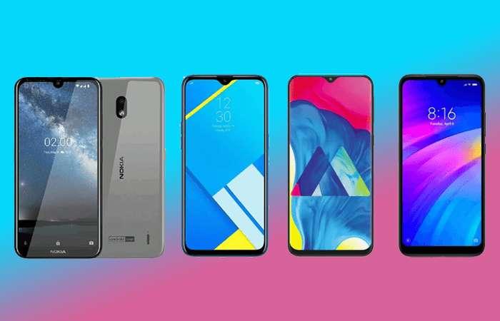 Nokia 2.2 vs Realme c2 vs Galaxy m2 vs redmi 7
