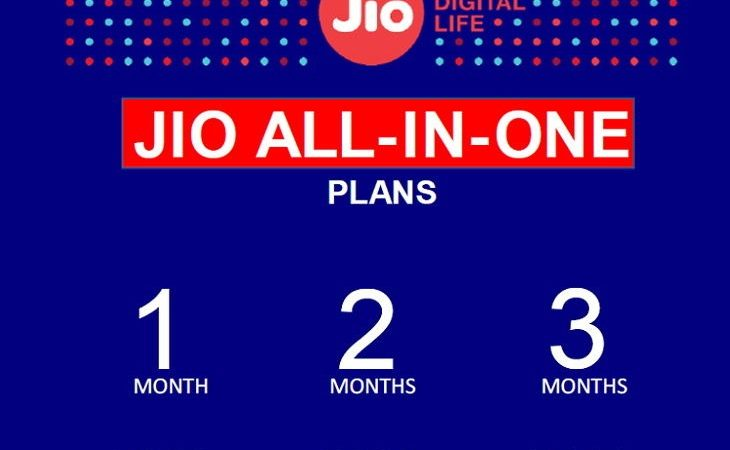 Reliance Jio launches 3 new plans, it will also get 1000 IUC minutes with 2GB data