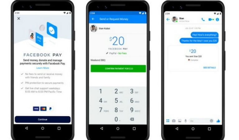 Facebook launches e-wallet facility, will be able to pay with Messenger, WhatsApp and Instagram