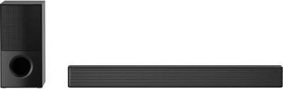 LG SNH5 With DTS Virtual:X and AI Sound Pro 600 W Bluetooth Soundbar(Black, 4.1 Channel)