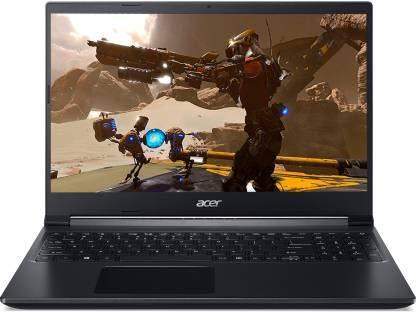 "Acer Aspire 7 Ryzen 5 Hexa Core 5500U - (8 GB/512 GB SSD/Windows 10 Home/4 GB Graphics/NVIDIA GeForce GTX 1650) A715-42G Gaming Laptop(15.6"" (39.62cms)), Black, 2.15 kg)"