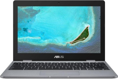 ASUS Chromebooks Celeron Dual Core - (4 GB/32 GB EMMC Storage/Chrome OS) C223NA-GJ0074 Thin and Light Laptop(11.6 inch, Grey, 1 Kg)