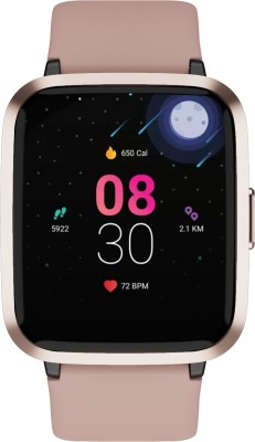 boAt Storm Smartwatch(Pink Strap, Regular)