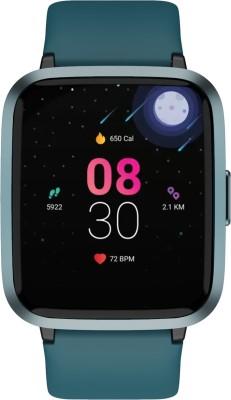 boAt Storm Smartwatch(Teal Green Strap, Regular)