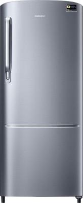 SAMSUNG 192 L Direct Cool Single Door 3 Star Refrigerator(Elegant Inox, RR20T172YS8/HL)