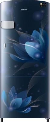 SAMSUNG 192 L Direct Cool Single Door 3 Star Refrigerator(Saffron Blue, RR20A1Y2YU8/HL)